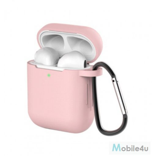 Airpods szilikon tok, Pink, 1.5mm(AIRPODS-CASE-P)