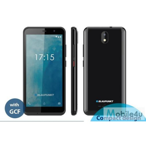 Blaupunkt SM05 dual SIM, GCF tanúsítványú, mobiltelefon készülék,fekete (BLAUPUNKT-SM05-FEK)