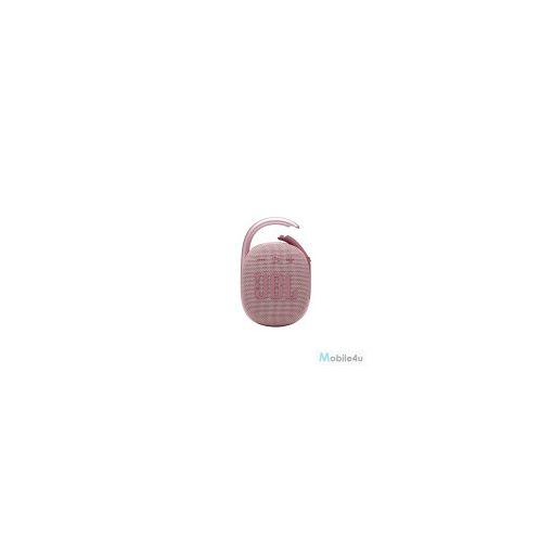 JBL Clip 4 Hordozható Bluetooth hangszóró, Pink(JBL-CLIP4-PINK)