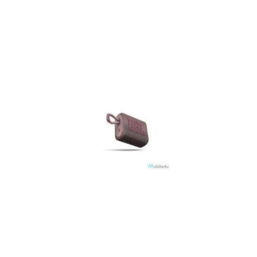JBL GO3 Hordozható Bluetooth hangszóró,vízálló,Pink(JBL-GO3-PINK)