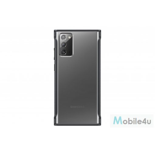 Samsung Galaxy Note 20 Clear protective cover,Fekete(OSAM-EF-GN980CBEG)
