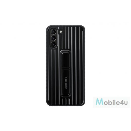 Galaxy S21 Plus Protective Standing cover, Fekete(OSAM-EF-RG996CBEG)