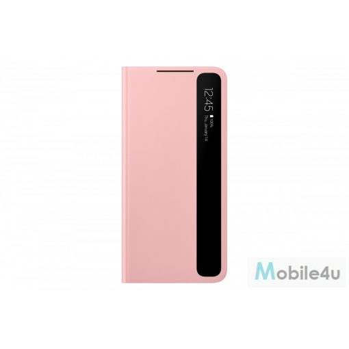 Samsung GalaxyS21 Plus Smart clear view cover,Pink(OSAM-EF-ZG996CPEG)