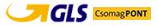 Gls csomagpont előre utalás vagy Barion bankkártyás fizetés esetén 990Ft